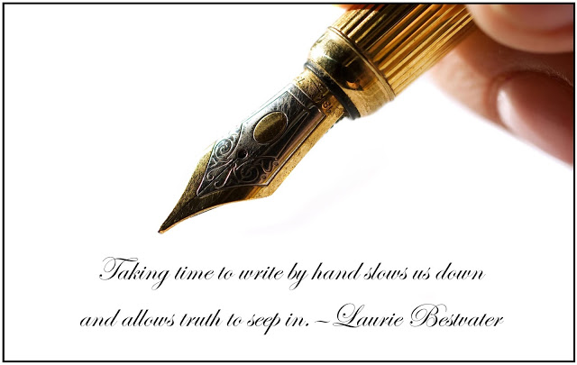 Every Bed of Roses: Take time to write